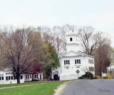 Photograph - Redding, Ct Congregational Church by Gordon Mooneyhan