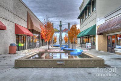 Photograph - Redding Promenade by Randy Wood