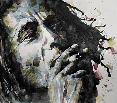 Bob Marley Painting - Redemption  by Paul Lovering