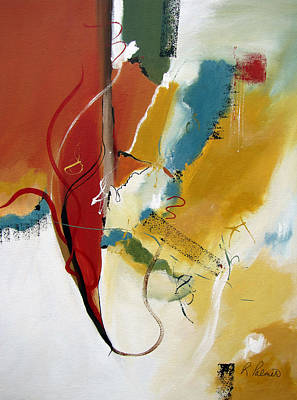 Christian Abstract Painting - Redemption by Ruth Palmer