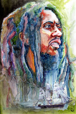 Painting - Redemption Song by Howard Barry