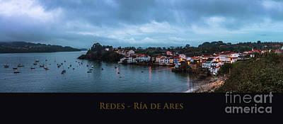 Redes Ria De Ares La Coruna Spain Art Print