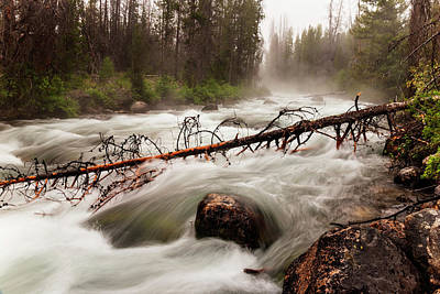 Photograph - Redfish Creek At Stanley Idaho by Vishwanath Bhat