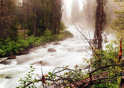 Photograph - Redfish Creek On A Fine Morning In Stanley Idaho by Vishwanath Bhat