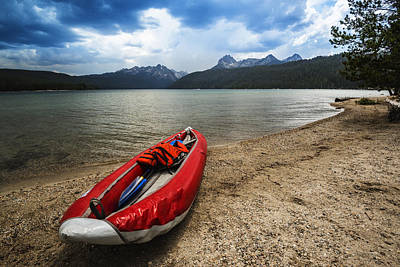 Photograph - Redfish Lake Stanley Idaho by Vishwanath Bhat