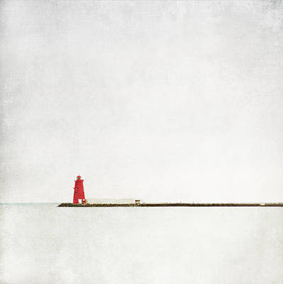 Wall Art - Photograph - Poolbeg Lighthouse by Maggy Morrissey
