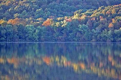 Rednor Lake Reflections - 1 Art Print by Randy Muir
