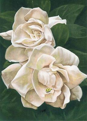 Gardenia Painting - Redolent by Barbara Keith
