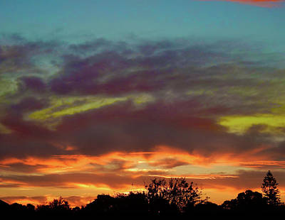Photograph - Redolent Sunset by Mark Blauhoefer