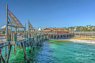 Photograph - Redondo Beach Pier by David Zanzinger