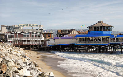 Photograph - Redondo Beach Pier Shopping by Robert Meyers-Lussier