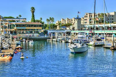 Photograph - Redondo King Harbor Marina by David Zanzinger