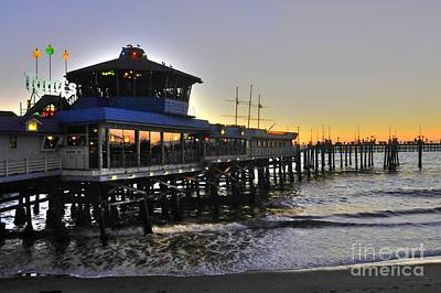 Photograph - Redondo Pier North by Richard Omura