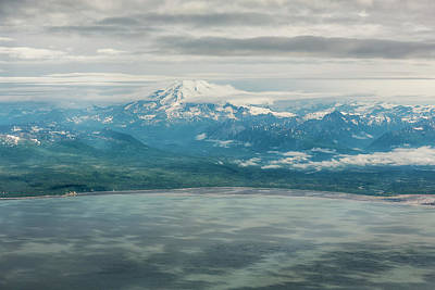 Photograph - Redoubt Volcano In Lake Clark Np by Belinda Greb
