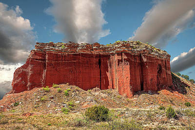 Photograph - Redrock by Scott Cordell