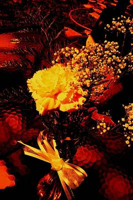 Reds And Yellows. Art Print by Douglas Kriezel