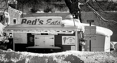 Shack Photograph - Reds Eats Is Closed For The Season by Olivier Le Queinec