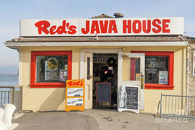 Photograph - Reds Java House At San Francisco Embarcadero Dsc5759 by San Francisco Art and Photography
