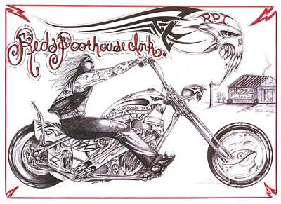 Red's Poor House 2 Print by Derek Hayes