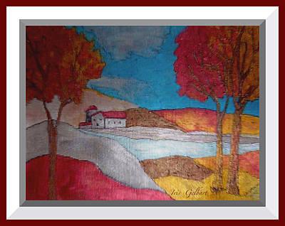 Painting - Redscape 2 by Iris Gelbart