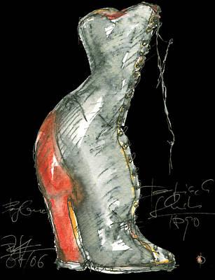Redshoe Art Print by Joerg Bernhard Klemmer
