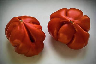 Photograph - Redtomatoes by Vladimir Kholostykh