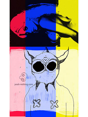 Red_yellow_blue Art Print by Yeah Nothing
