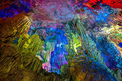 Photograph - Reed Flute Cave Guilin by Judith Barath