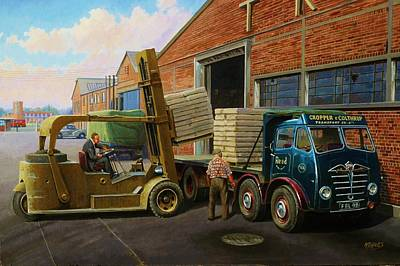 Reed Paper Foden Fg Original by Mike  Jeffries