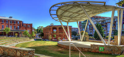 Photograph - Reedy River Downtown Greenville South Carolina Art by Reid Callaway