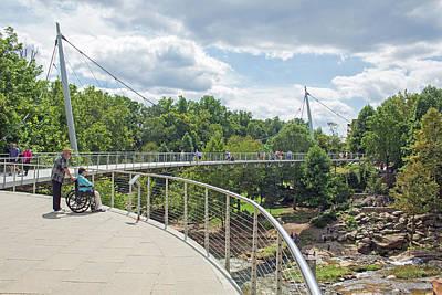 Photograph - Reedy River Falls Park 10 by Joseph C Hinson Photography