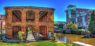 Photograph - Reedy River Mill Venue Greenville South Caroline Art by Reid Callaway