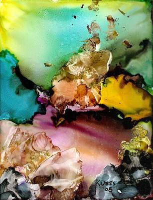 Reef 3 Art Print by Susan Kubes