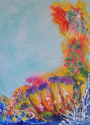 Painting - Reef Corals by Lyn Olsen