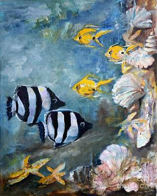 Painting - Reef by Pamela Shearer