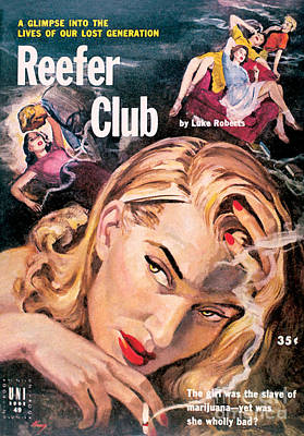 Painting - Reefer Club by Warren King