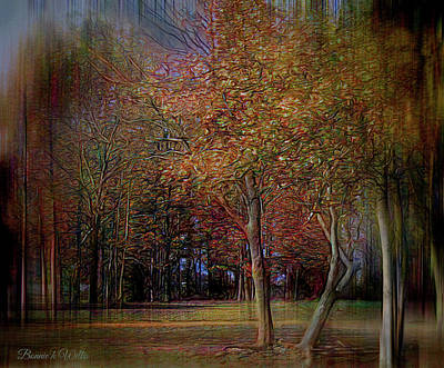 Digital Art - Reelfoot Night Glow by Bonnie Willis