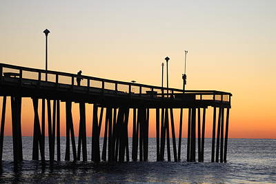 Photograph - Reeling In A Morning Catch by Robert Banach