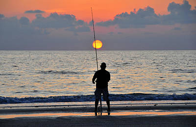 Photograph - Reeling In The Sun by David Lee Thompson