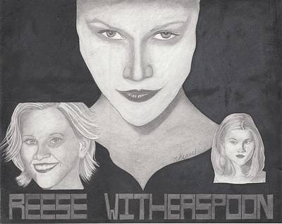 Reese Witherspoon Art Print by Tara Kearce