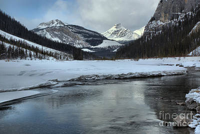 Photograph - Refelctions Along The Icefields Parkway by Adam Jewell