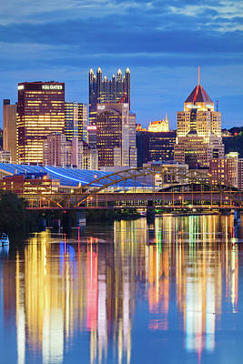 Photograph - Reflections In Allegheny  by Emmanuel Panagiotakis