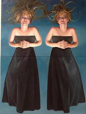 Painting - Reflect Reflect by Mays Mayhew
