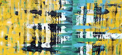 Drip Painting - Reflect by Sumit Mehndiratta