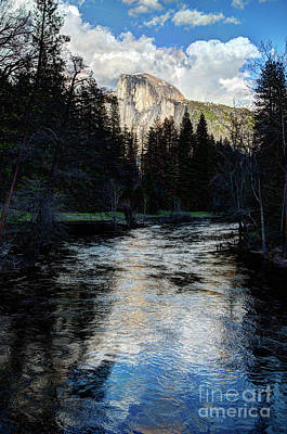 Photograph - Reflectance Of Half Dome In Yosemite by Terry Garvin