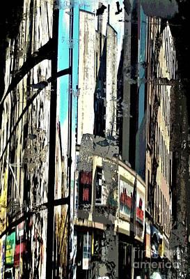 Reflected City 2 Art Print by Sarah Loft