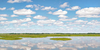 Photograph - Reflected Clouds - 01 by Rob Graham