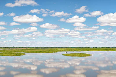 Photograph - Reflected Clouds - 02 by Rob Graham