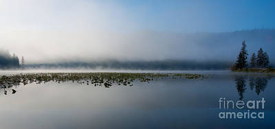 Photograph - Reflected Mists by Idaho Scenic Images Linda Lantzy