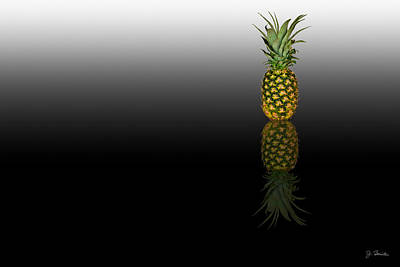 Photograph - Reflected Pineapple by Joe Bonita